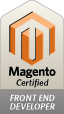Magento Front End Developer - Certified