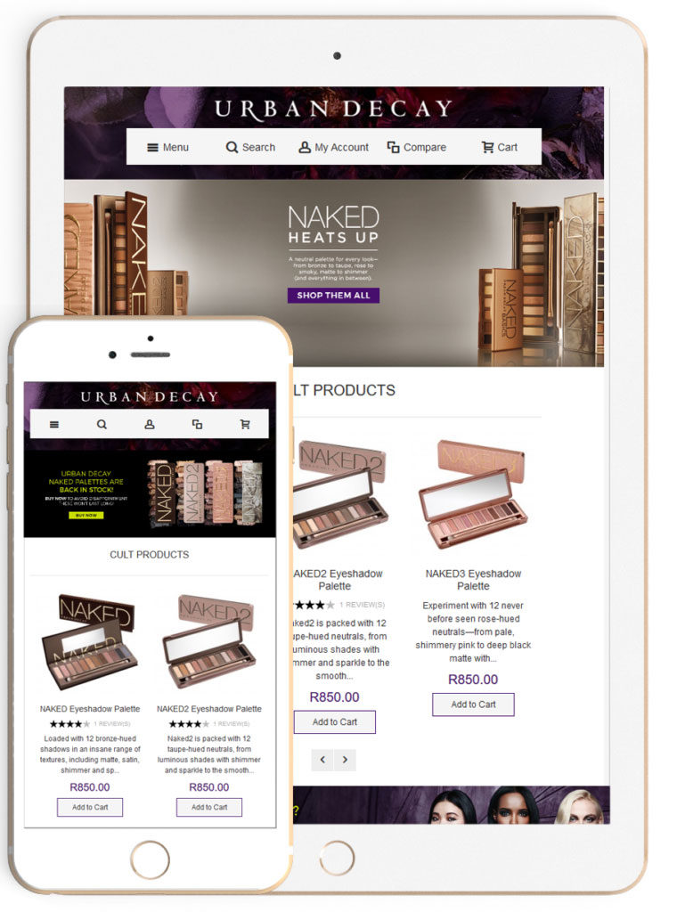 Magento Responsive E-Commerce Web Development